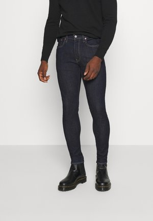 SKINNY TAPER - Jeans Skinny Fit - dark-blue-denim