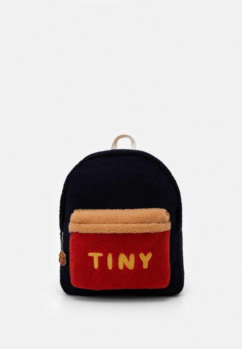 TINYCOTTONS - TINY BIG COLOR BLOCK BACKPACK - Zaino - navy