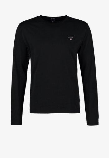 THE ORIGINAL - Långärmad tröja - black