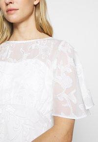 Dorothy Perkins - BRIDAL LEYLA BACK MAXI DRESS - Occasion wear - ivory - 5