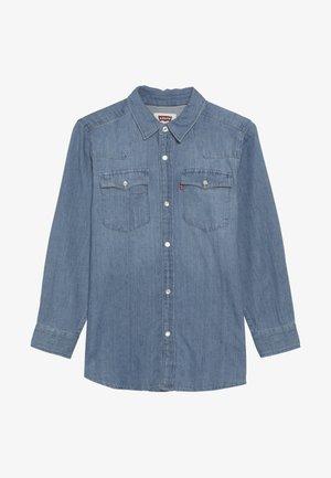 BARSTOW WESTERN  - Shirt - light blue denim