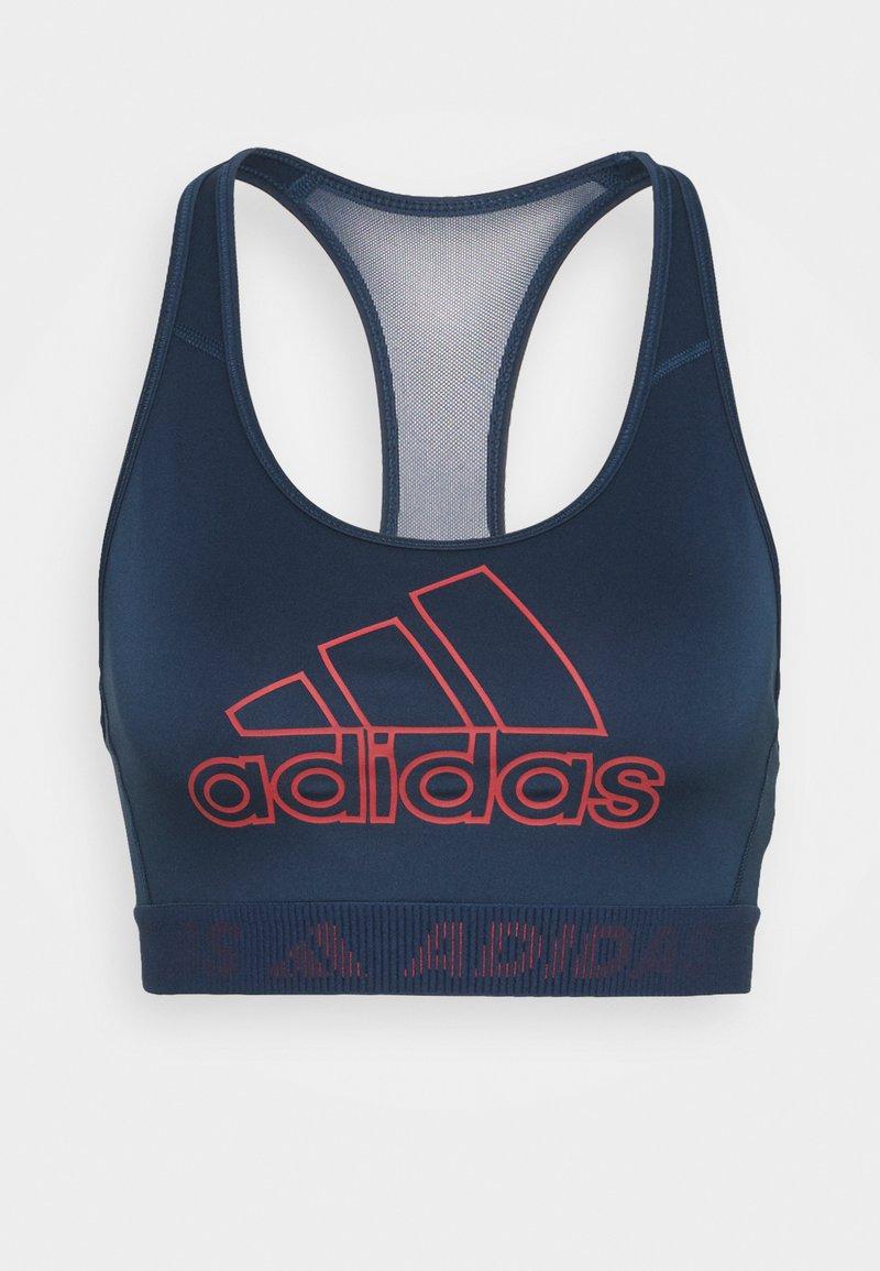 adidas Performance - Reggiseno sportivo con sostegno medio - navy/blue