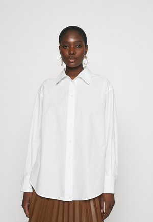 LISTEN - Button-down blouse - white