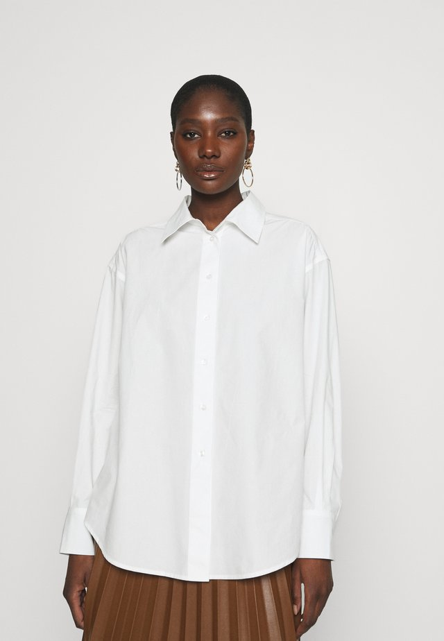 LISTEN - Skjortebluser - white