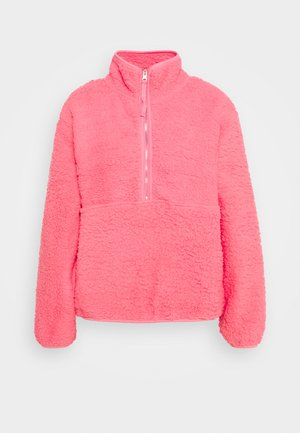 ZIP - Fleece jumper - summer punch pink