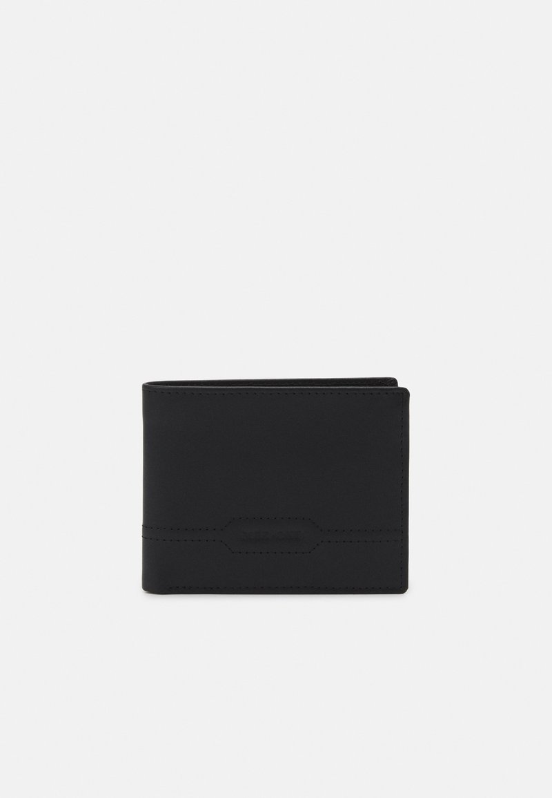 Pier One - LEATHER UNISEX - Wallet - black