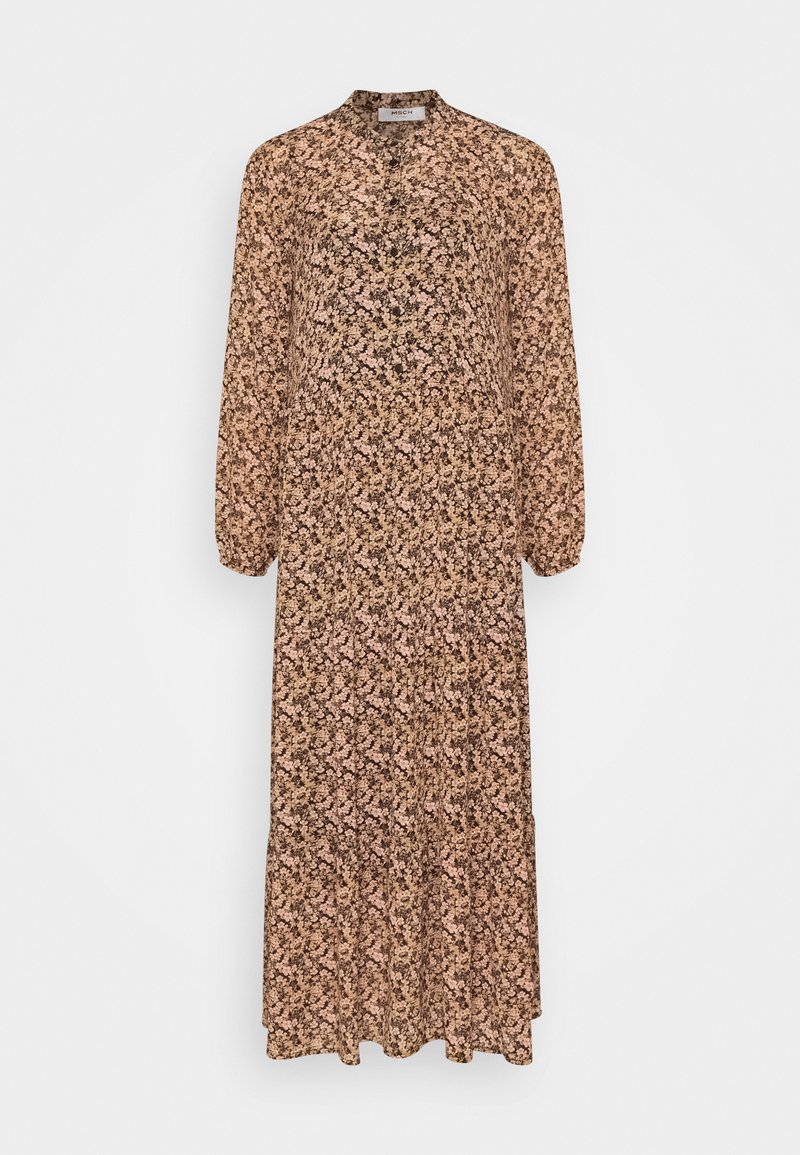 Moss Copenhagen - MARTHA RIKKELIE DRESS - Maxi dress - black