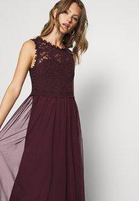 Vila - VILYNNEA MAXI DRESS - Suknia balowa - winetasting - 3