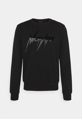 REGULAR FIT - Pitkähihainen paita - black