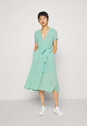 KLEA LONG DRESS  - Day dress - feuilles menthe