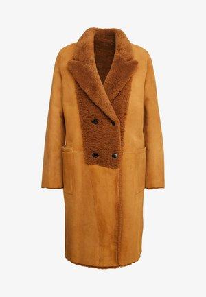 CROSS - Classic coat - tobacco