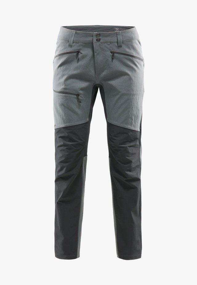 HAGLÖFS OUTDOORHOSE RUGGED FLEX PANT WOMEN - Pantaloni outdoor - grey