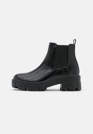 LIZA - Korte laarzen - black