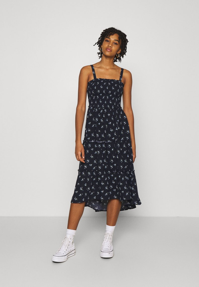 Hollister Co. - CHAIN DRESS - Kjole - navy