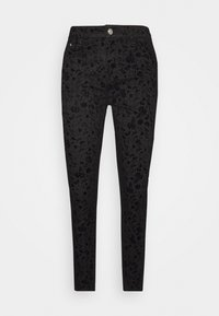 Desigual - PANT WALLPAPER - Slim fit jeans - black