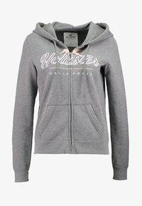 Hollister Co. - CORE FULL ZIP - Mikina na zip - grey - 3