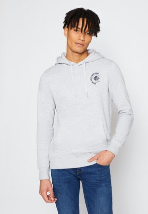 Hoodie - light stone grey