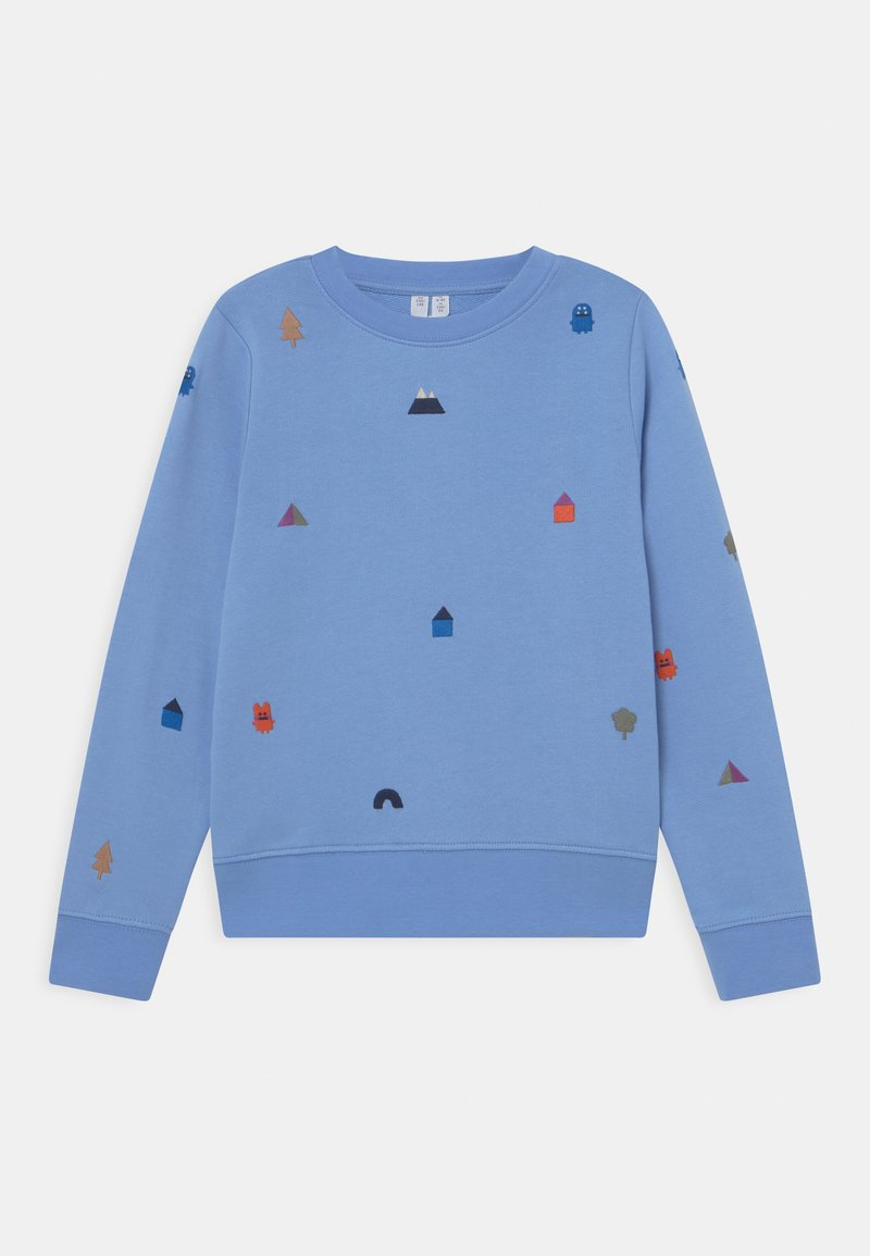 ARKET - Sweatshirt - blue/white