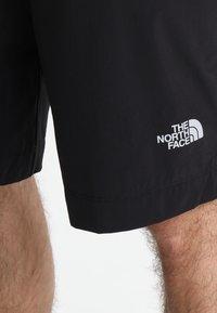 The North Face - SPEEDLIGHT SHORT - kurze Sporthose - black/black - 3