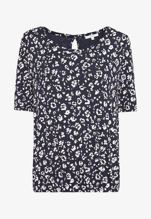 SIANA - Print T-shirt - dark blue