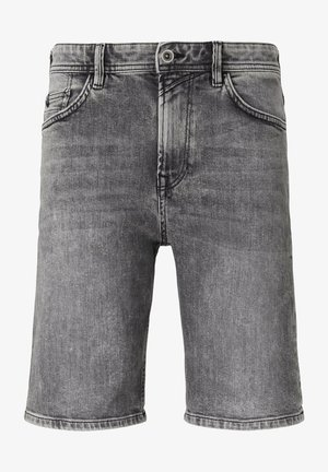 Jeansshorts - used light stone grey denim