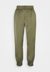 Guess - EUPHEMIA - Tracksuit bottoms - greek olive - 4
