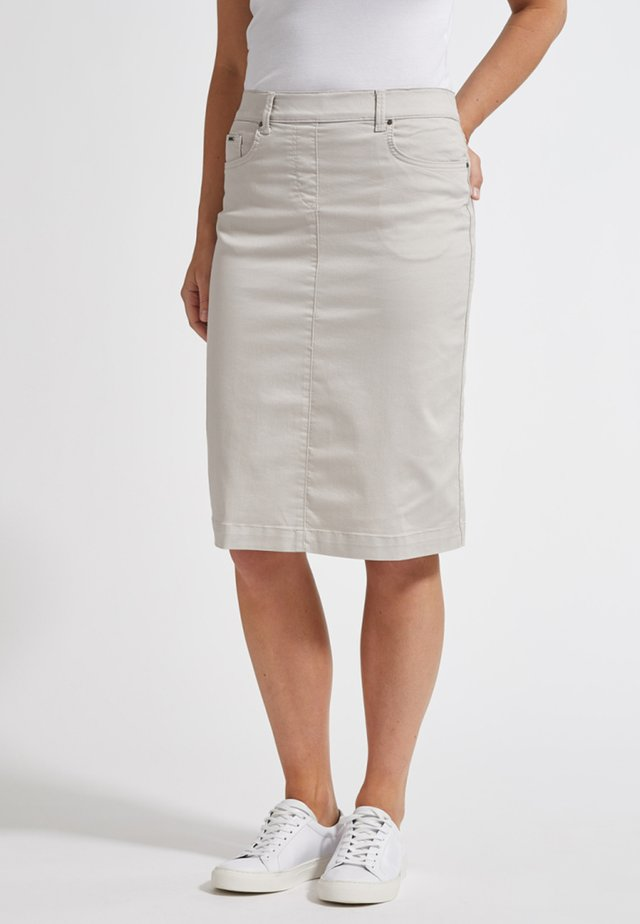 SUSANNA - Pencil skirt - grey