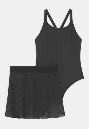 BALLET LEOTARD & SKIRT SET - gymnastikdräkt - black