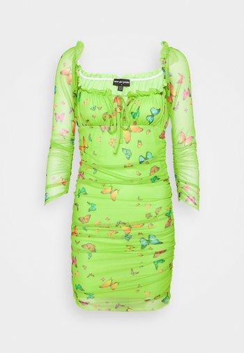 BUTTERFLY DRESS - Kjole - green