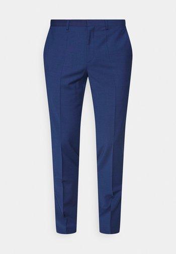 HESTEN - Suit trousers - open blue