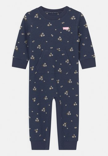 UPHOODIECOVERALL - Jumpsuit - peacoat