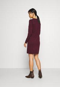 edc by Esprit - DRESS - Jumper dress - bordeaux red - 2