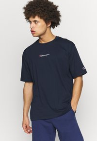 Champion - ROCHESTER CREWNECK - T-shirts basic - navy - 0