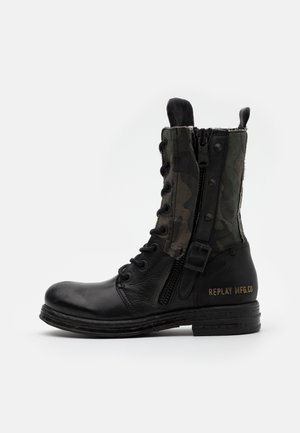 SADE DARLING - Cowboy/biker ankle boot - black