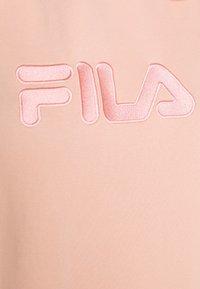 Fila Plus - TEOFILA OVERSIZED HOODY DRESS - Vestito estivo - coral cloud - 5