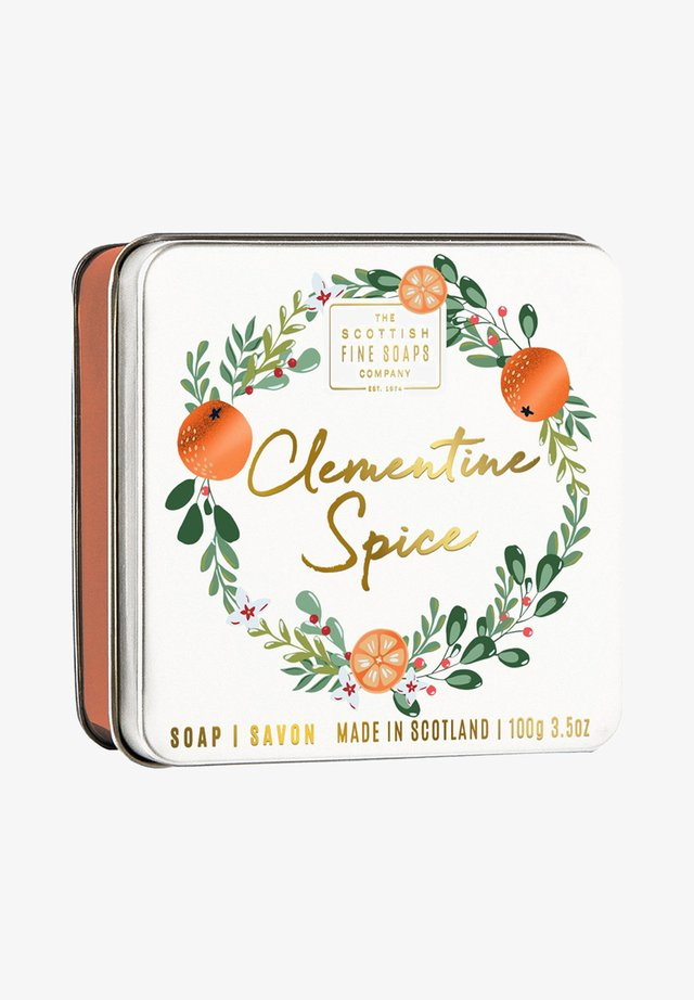 CLEMENTINE SOAP IN DER DOSE 100 G - Soap bar - -