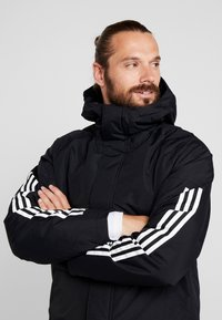 adidas Performance - XPLORIC 3-STRIPES WINTER JACKET - Talvitakki - black - 3