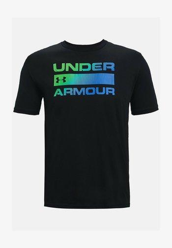 UA TEAM ISSUE WORDMARK  - Print T-shirt - black