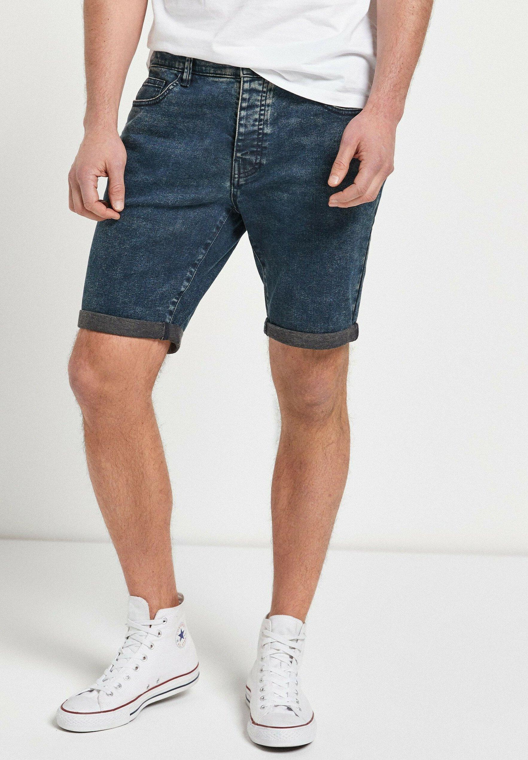 Homme VINTAGE WASH WITH STRETCH - Short en jean