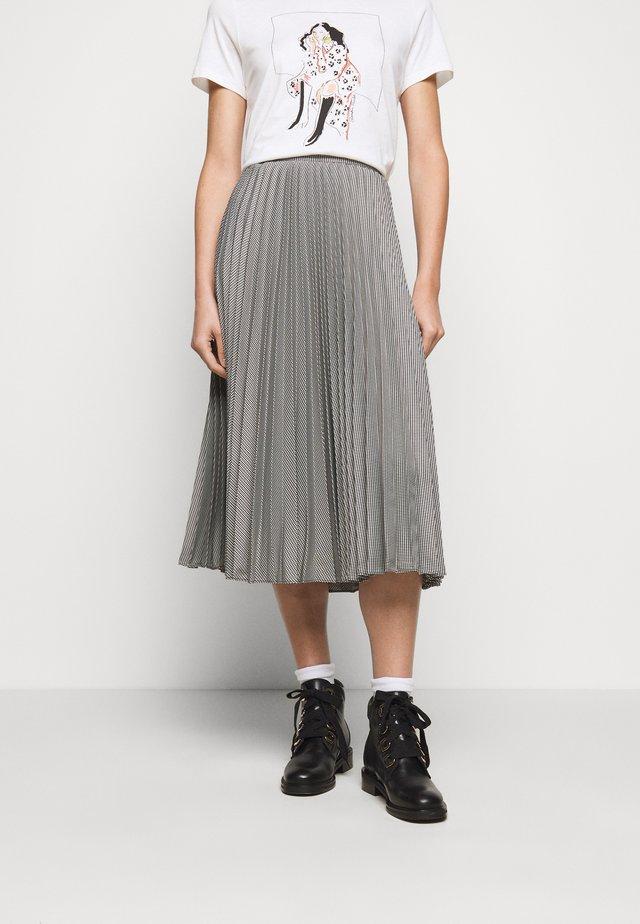 SPLENDEUR - A-line skirt - black