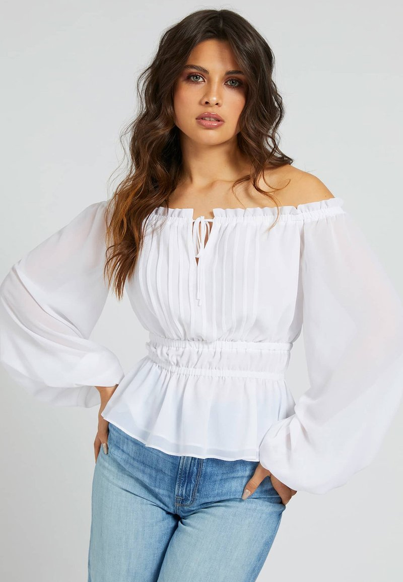 Guess - Blouse - weiß