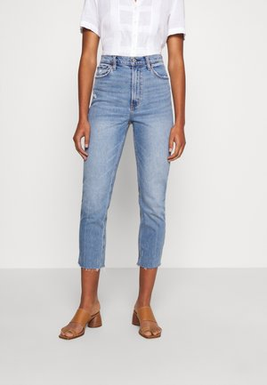 CLEAN CURVE  - Jeans straight leg - light-blue denim