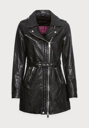 MY PASSION - Krótki płaszcz - black