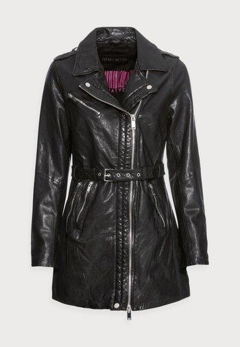 MY PASSION - Short coat - black
