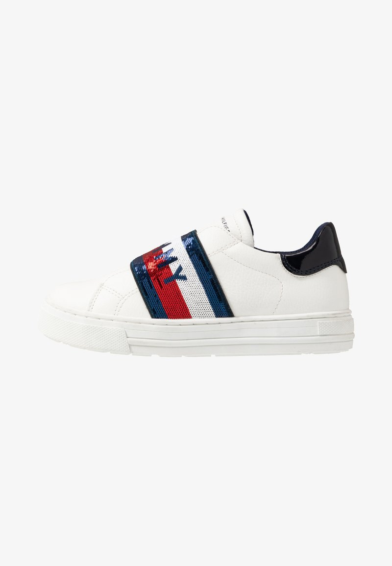 Tommy Hilfiger - Loafers - white/blue