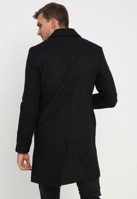 Pier One - Classic coat - black - 2