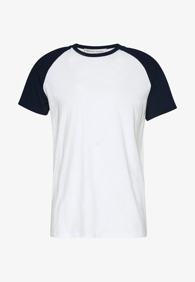 UNISEX SVEN - T-shirt con stampa - navy blazer