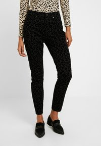 Madewell - HIGH RISE - Jeans Skinny Fit - black - 0