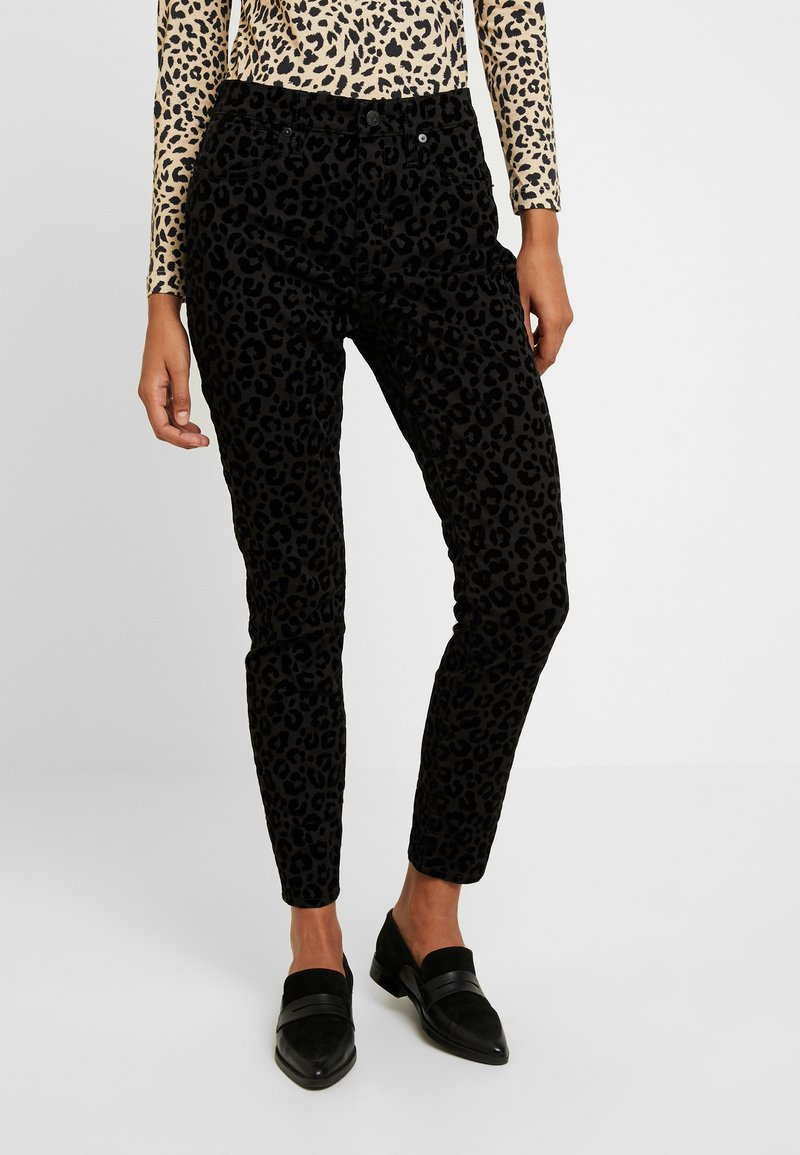 Madewell - HIGH RISE - Jeans Skinny Fit - black