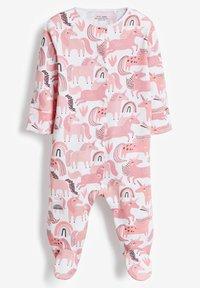 Next - 3 PACK - Sleep suit - pink - 1